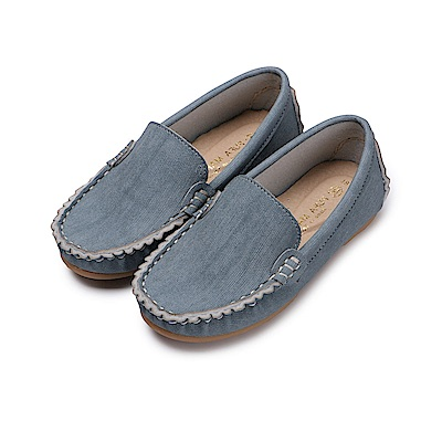 BuyGlasses 輕輕兒童樂福休閒鞋-藍