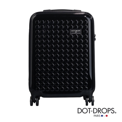 DOT-DROPS 20 吋 Chapter 2 輕量客製點點硬殼行李箱 - 幻影黑
