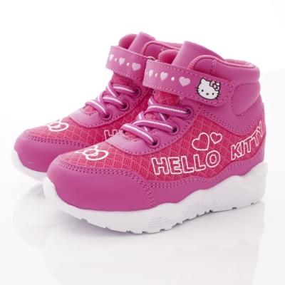 HelloKitty童鞋 電燈短靴款 SE19864桃(小童段)