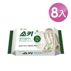 【韓國 MKH無窮花】抹布去油汙家事清潔皂 8入