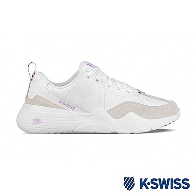K-SWISS CR-329 LTR 老爹鞋-女-白/粉紫