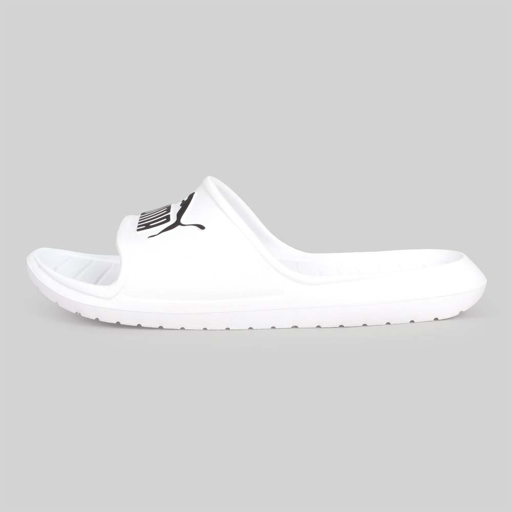 PUMA 男女 運動拖鞋 Divecat v2 白黑
