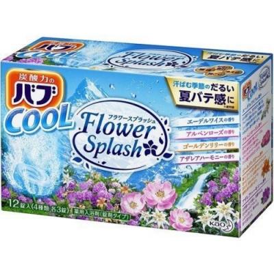 日本品牌 花王KAO 四合一溪谷之花泡澡錠 12錠