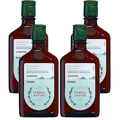 樹重奏 油甘純粹酵果露4瓶組(190±5ml/瓶)