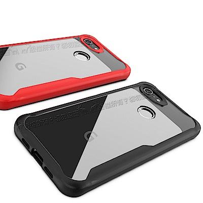 簡約工業風 Google Pixel 3a XL 清透防摔手機殼 高透光保護殼