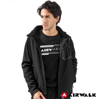 【AIRWALK】男款連帽貼合外套-共兩色