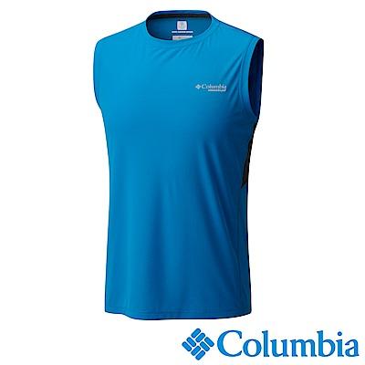 Columbia 哥倫比亞 男 涼感快排野跑背心 (UAE01750)