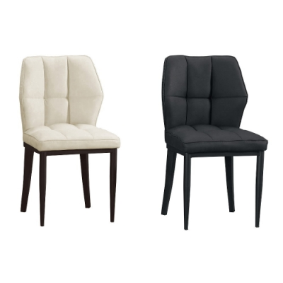 MUNA 鳴蟬皮餐椅/休閒椅(共兩色) 48X48X87cm