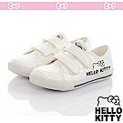 HelloKitty 輕量減壓休閒帆布童鞋-白