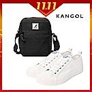 KANGOL休閒帆布鞋-共3色(買就送品牌小包)