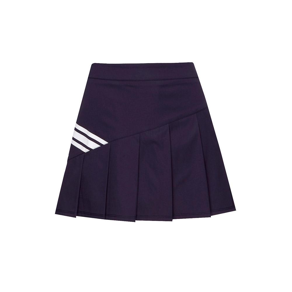 FILA 女款平織短裙-丈青 5SKT-1460-NV