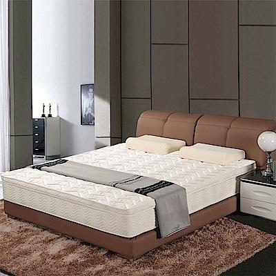 艾維斯 3M防潑水歐式提花三線獨立筒床墊-雙人加大6尺