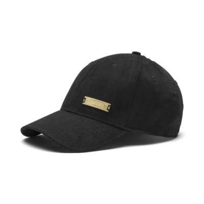 PUMA-男女流行系列SUEDE棒球帽-黑色