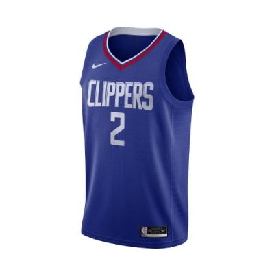 Nike 球衣 Kawhi Leonard NBA球星 男款 洛杉磯快艇 雷納德 可愛 2號 吸濕排汗 藍 紅 CW3668402