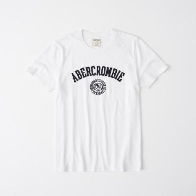 AF a&f Abercrombie & Fitch 短袖T恤白色 1342