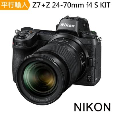 Nikon Z7+Z 24-70mm F/4 S KIT*(中文平輸)