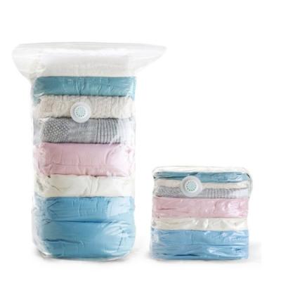 立體款 收納好幫手 換季 衣物 被單 真空壓縮袋 免抽氣 收納打包袋 中號立體款