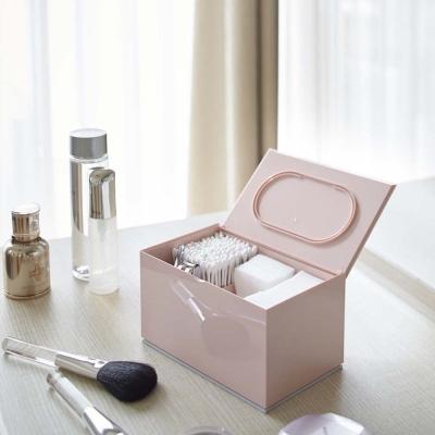 【YAMAZAKI】Veil生活小物分隔收納盒-粉★飾品架/收納架/收納盒/急救箱