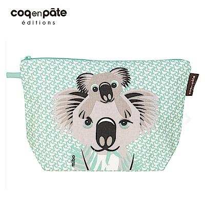 【COQENPATE】法國有機棉無毒環保布包 / 大大水堅包 - 無尾熊