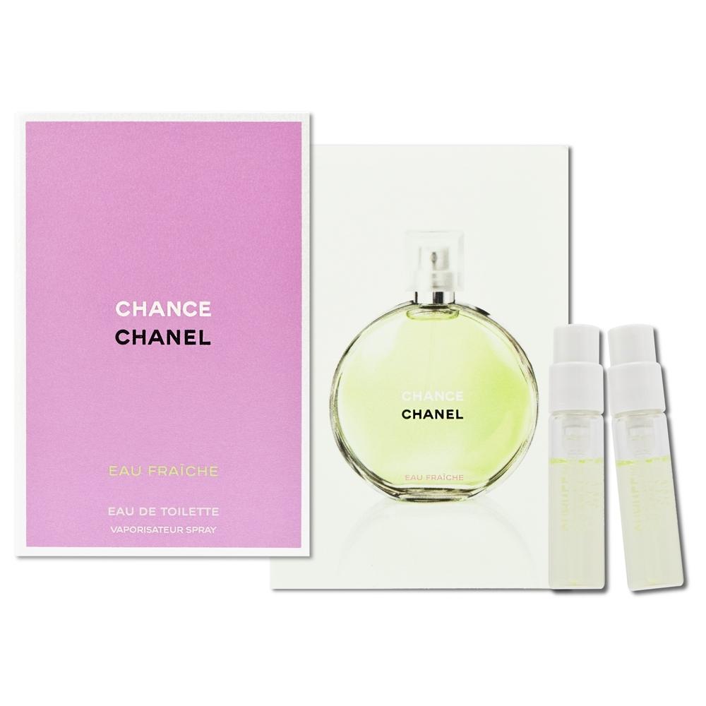 CHANEL 香奈兒 CHANCE 綠色氣息淡香水 1.5mlx2入
