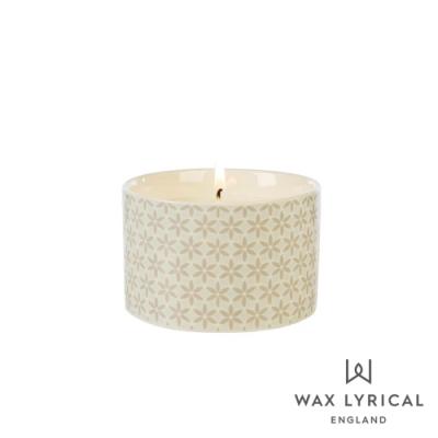 英國 Wax Lyrical 大地系列香氛蠟燭-生薑烏龍 Oolong & Stem Ginger 168g