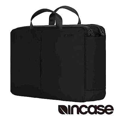 INCASE Kanso Brief 15吋手提肩背後背三用筆電公事包黑