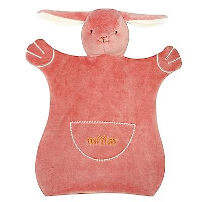 美國miYim有機棉手偶安撫巾-邦妮兔兔
