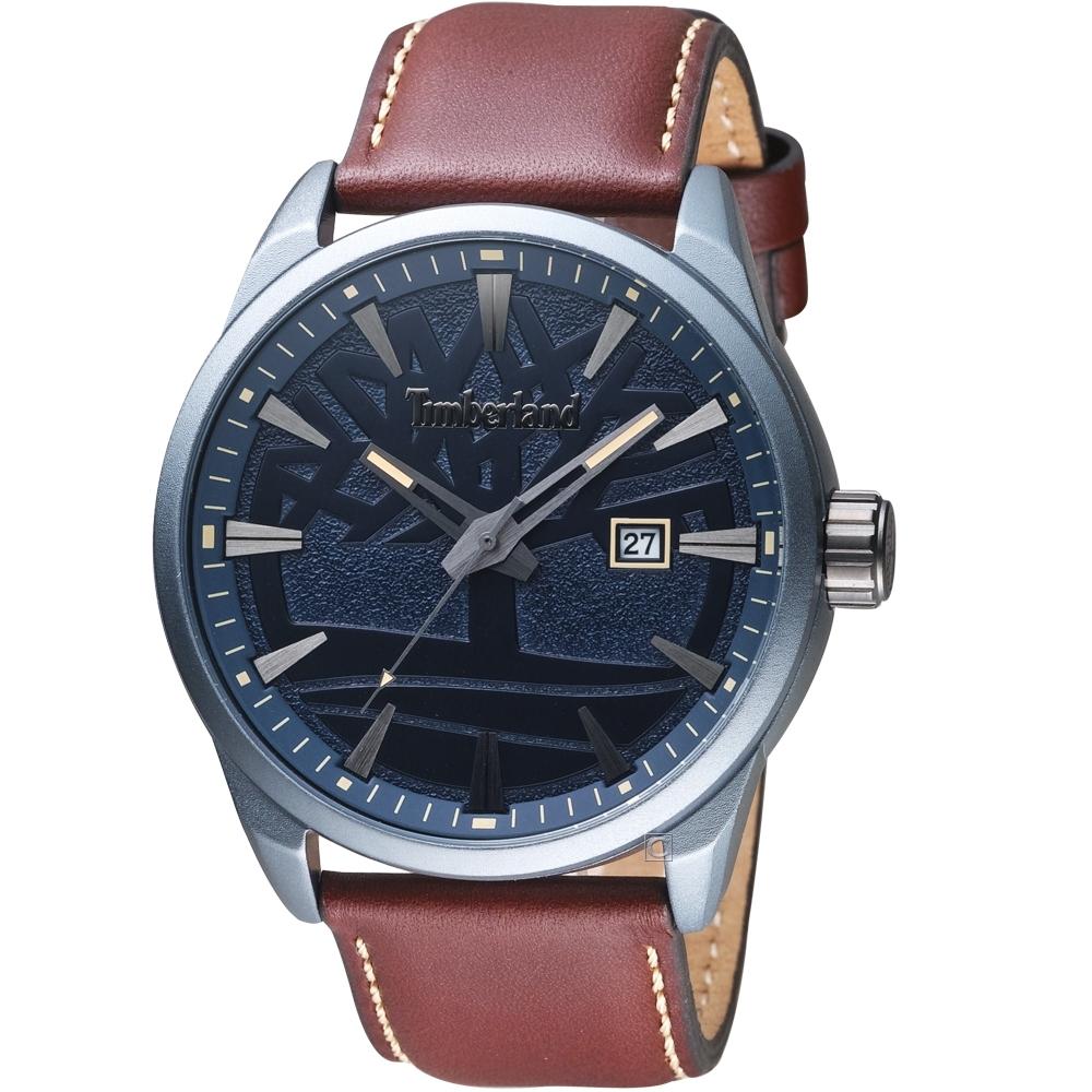 Timberland叢林之心時尚手錶(TBL.15576JLU/03)-46mm/藍