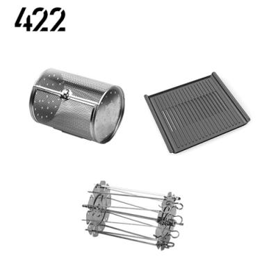 【422】AIR FRYER AF13L 氣炸烤箱 配件組(轉籠+牛排烤盤+烤叉串)