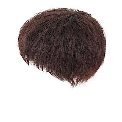 米蘭精品 假髮片真髮絲-短髮隱形無痕自然女假髮母親節禮物73uh40