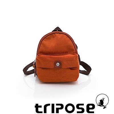 tripose MEMENTO系列尼龍輕量防潑水寵物背包-橘色