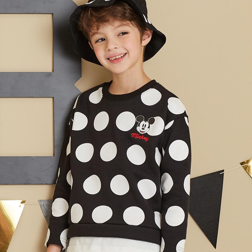 Disney 米奇系列大圓點米奇上衣(共2色)