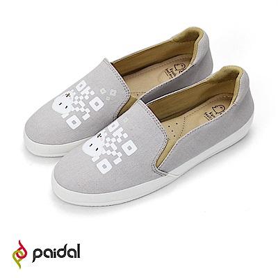 Paidal x 卡娜赫拉的小動物 P助QRcode樂福鞋
