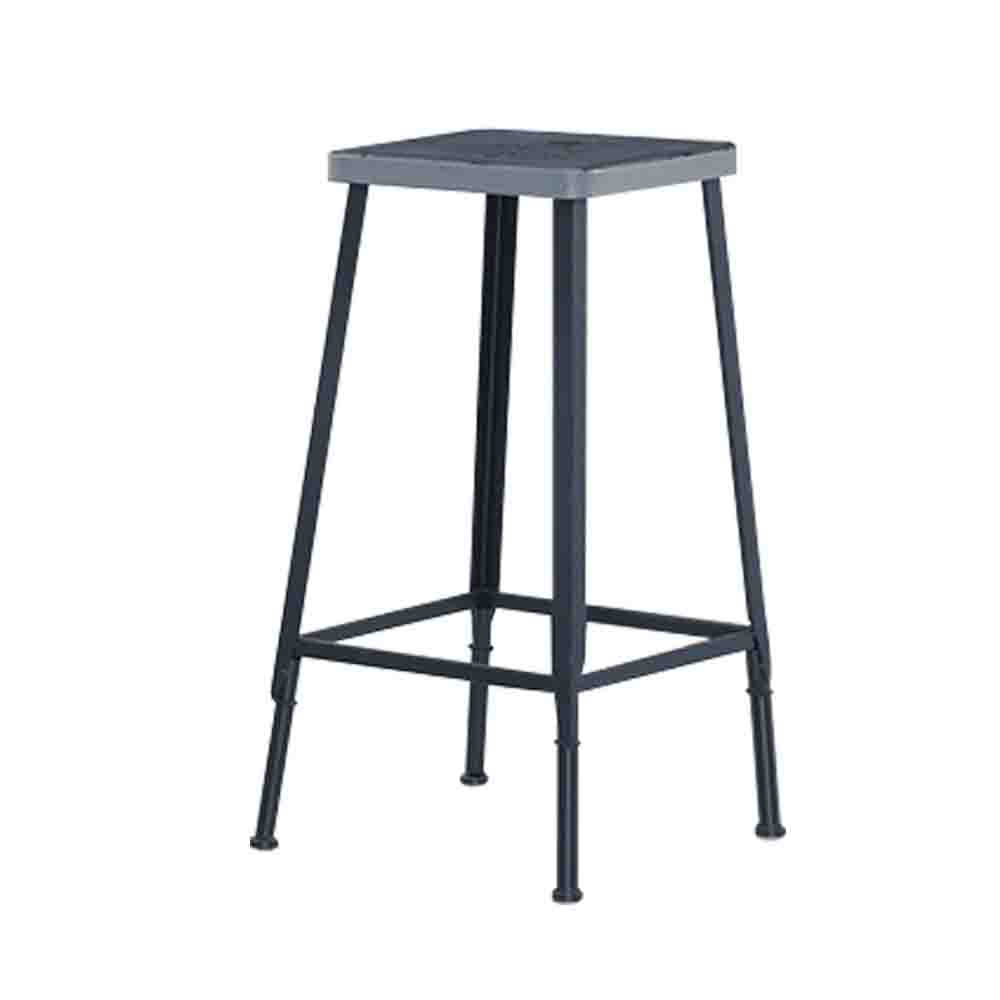 Bernice-懷特工業風吧台椅/高腳椅(兩色可選)-34x34x76cm