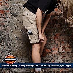 美式DICKIES 工作短褲 中低腰斜紋布 硬挺工裝 全新真品