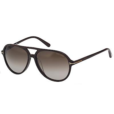 TOM FORD 中性款 太陽眼鏡-木紋色-TF9331
