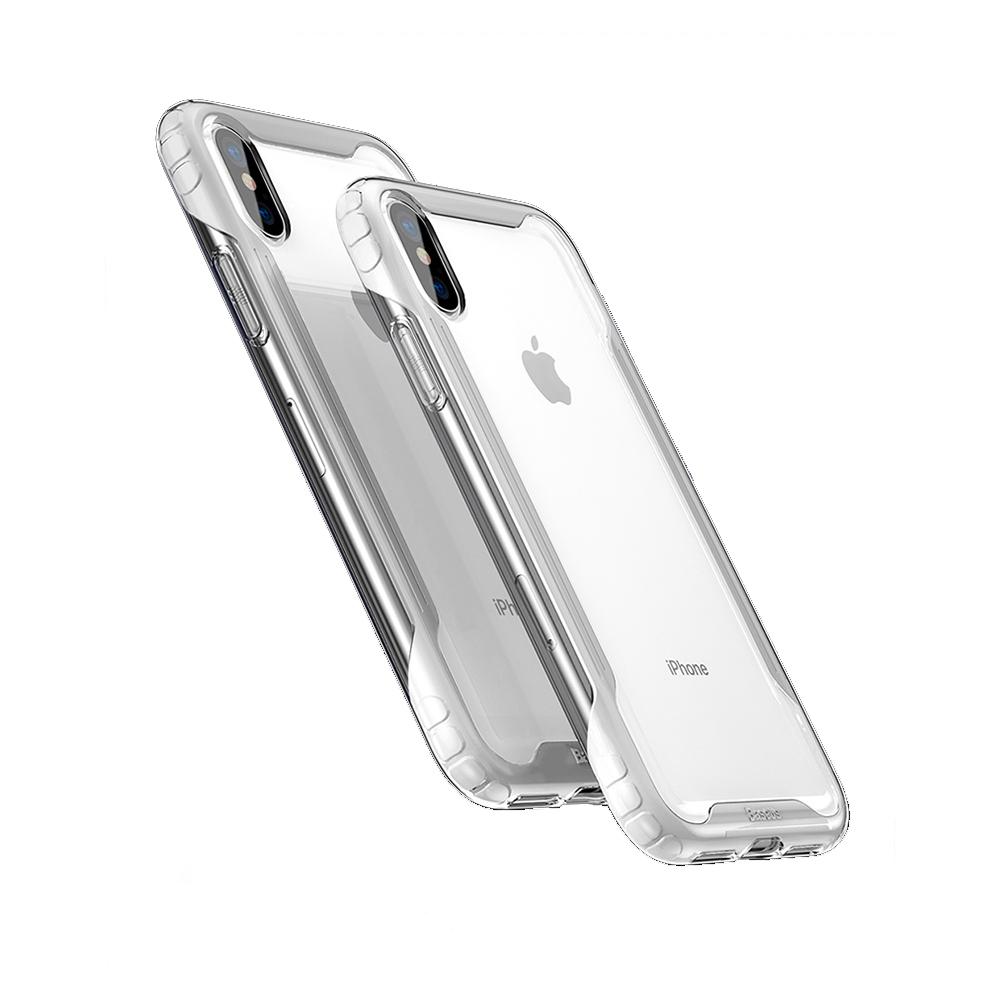 Baseus for iPhone XS/X 軍規四角防護氣囊保護殼