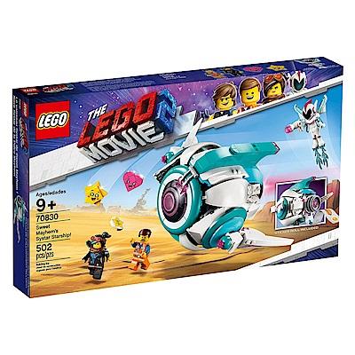樂高LEGO 玩電影系列 - LT70830 Sweet Mayhem s Systar