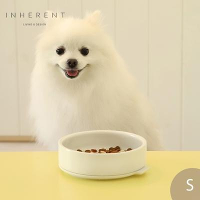 韓國Inherent Pudding 可堆疊寵物碗 寵物碗 狗碗 S 純淨白