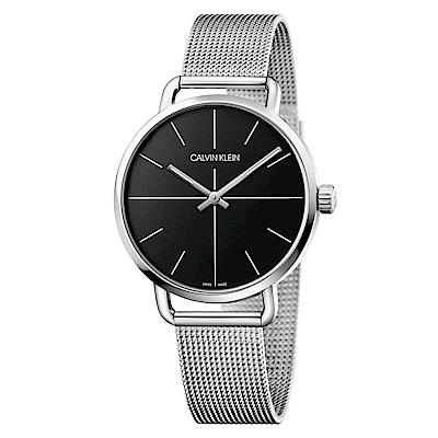 CALVIN KLEIN even 超然系列腕錶-黑/42mm