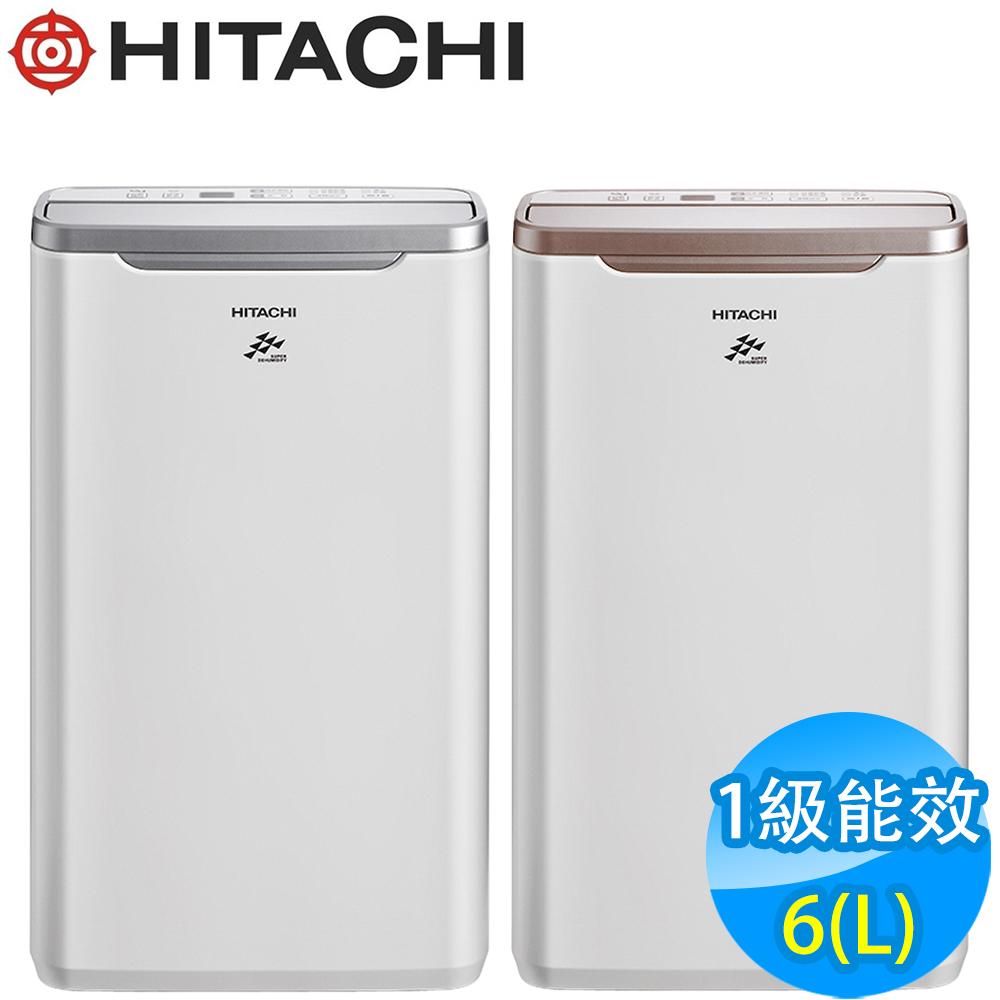 HITACHI日立 6L 1級LED面板清淨除濕機 RD-12FQ/FR