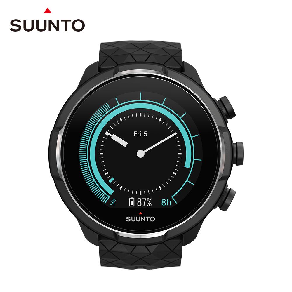 SUUNTO 9 Baro 超長電池續航力及氣壓式高度的多項目運動GPS腕錶 (鈦金屬黑)