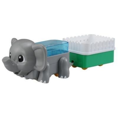 任選TOMICA 大象_ AN83111 多美動物火車 多美動物園