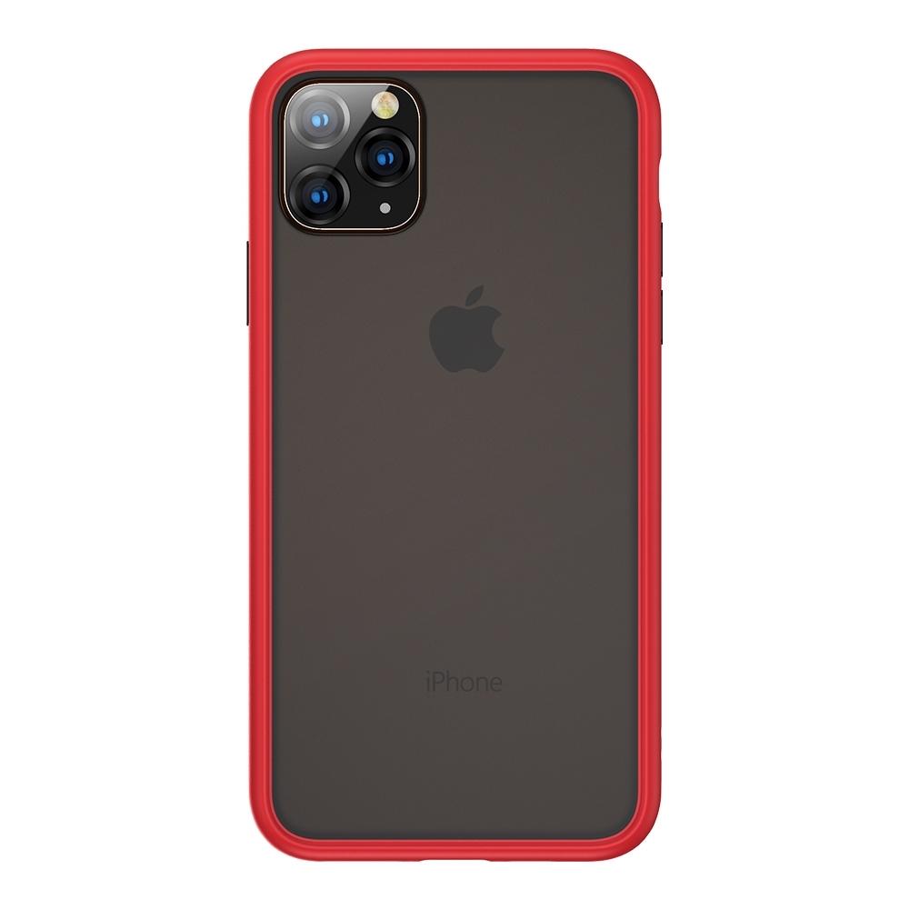 Benks iPhone11 (6.1吋) 防摔膚感手機殼●胭紅