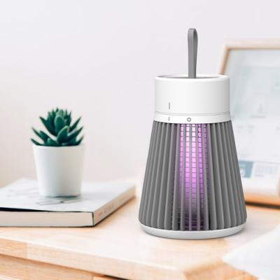 電擊式捕蚊燈 光催化滅蚊神器 便攜式光觸媒紫光滅蚊燈 USB充電