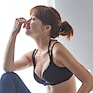 蕾黛絲-挺素面真水 D罩杯內衣(星空黑)