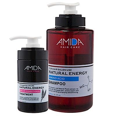 Amida 蜜拉洗護平衡保濕組(1000ml洗+250lm護)