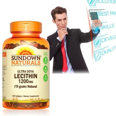 Sundown日落恩賜 頂級61%卵磷脂膠囊(100粒/瓶)