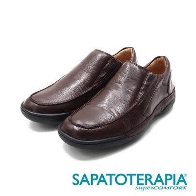 SAPATOTERAPIA(男)透氣舒適機能鞋 男鞋-咖(另有黑)