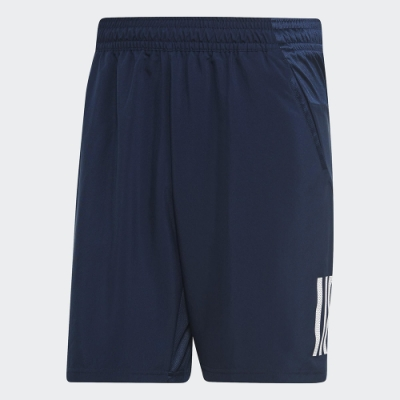 adidas 運動短褲 網球 健身 男款 藍 DU0875 CLUB 3STR SHORT